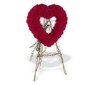 Batman internetten çiçek satışı  karanfillerden kalp pano