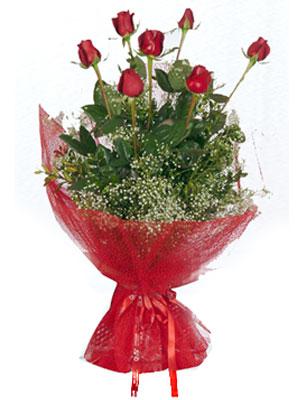 Batman çiçek servisi , çiçekçi adresleri  7 adet gülden buket görsel sik sadelik