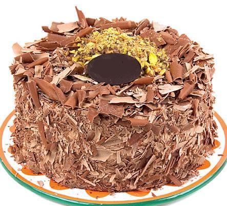 çikolatali 4 ile 6 kisilik yas pasta  Batman çiçek servisi , çiçekçi adresleri