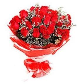 Batman çiçek mağazası , çiçekçi adresleri  12 adet kırmızı güllerden görsel buket