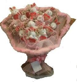 12 adet tavşan buketi  Batman çiçek mağazası , çiçekçi adresleri