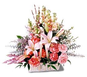 Batman çiçek siparişi sitesi  mevsim çiçekleri sepeti özel tanzim
