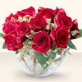 Batman çiçek online çiçek siparişi  mika yada cam içerisinde 10 gül - sevenler için ideal seçim -