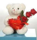3 adetgül ve oyuncak   Batman online çiçekçi , çiçek siparişi