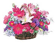 küçük karisik özel sepet   Batman çiçek online çiçek siparişi