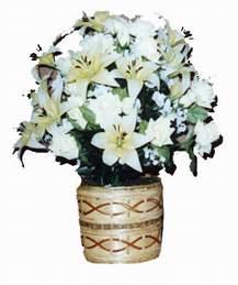 yapay karisik çiçek sepeti   Batman çiçek mağazası , çiçekçi adresleri