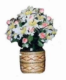 yapay karisik çiçek sepeti   Batman çiçek servisi , çiçekçi adresleri