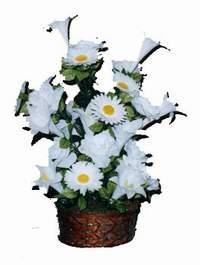 yapay karisik çiçek sepeti  Batman çiçek siparişi vermek