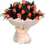 11 adet gonca gül buket   Batman çiçek gönderme sitemiz güvenlidir