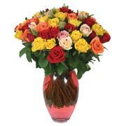 51 adet gül ve kaliteli vazo   Batman çiçek gönderme sitemiz güvenlidir