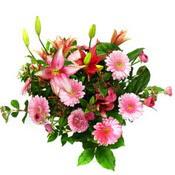 lilyum ve gerbera çiçekleri - çiçek seçimi -  Batman çiçek gönderme