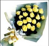 sari güllerden sade buket  Batman çiçek , çiçekçi , çiçekçilik