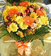 Batman hediye çiçek yolla  karma büyük ve gösterisli mevsim demeti