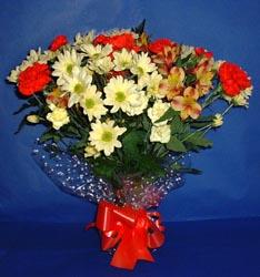 Batman hediye çiçek yolla  kir çiçekleri buketi mevsim demeti halinde