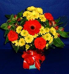 Batman ucuz çiçek gönder  sade hos orta boy karisik demet çiçek