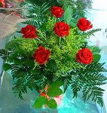 6 adet kirmizi gül buketi   Batman online çiçek gönderme sipariş