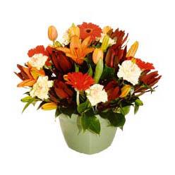 mevsim çiçeklerinden karma aranjman  Batman çiçek yolla , çiçek gönder , çiçekçi