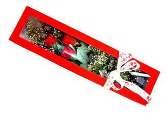 Batman hediye çiçek yolla  Kutuda 3 adet gül