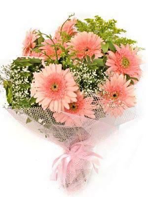 Batman çiçek satışı  11 adet gerbera çiçegi buketi