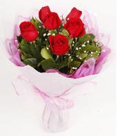 9 adet kaliteli görsel kirmizi gül  Batman çiçek gönderme