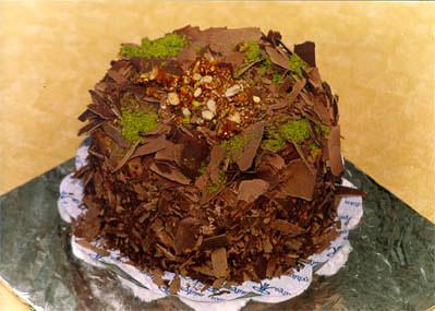 Çikolatali 4 ila 6 kisilik yas pasta  Batman çiçek gönderme sitemiz güvenlidir