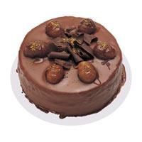 Kestaneli çikolatali yas pasta  Batman çiçek , çiçekçi , çiçekçilik