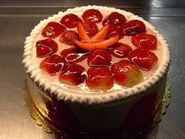 Meyvali yas pasta 4 ile 6 kisilik pasta  Batman çiçek siparişi sitesi