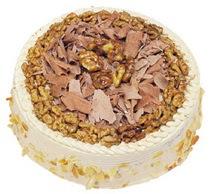 Karamelli 4 ile 6 kisilik yas pasta  Batman çiçek yolla