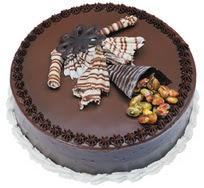 Çikolatali yas pasta 4 ile 6 kisilik  leziz  Batman çiçek mağazası , çiçekçi adresleri