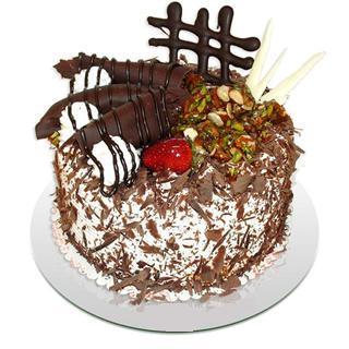 4 ile 6 kisilik çikolatali yas pasta  Batman kaliteli taze ve ucuz çiçekler