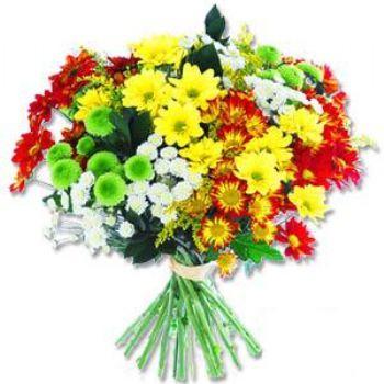 Kir çiçeklerinden buket modeli  Batman online çiçek gönderme sipariş