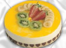 pasta gönderme 4 ile 6 kisilik yas pasta muzlu yaspasta  Batman çiçek mağazası , çiçekçi adresleri