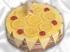 taze pastaci 4 ile 6 kisilik yas pasta limonlu yaspasta  Batman online çiçek gönderme sipariş