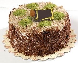 pasta gönderme 4 ile 6 kisilik çikolatali yas pasta  Batman çiçek satışı