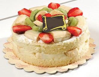 pasta siparisi 4 ile 6 kisilik karisik meyvali yas pasta  Batman çiçek servisi , çiçekçi adresleri