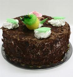 4 ile 6 kisilik yas pasta çikolatali leziz pastane ürünü  Batman cicekciler , cicek siparisi