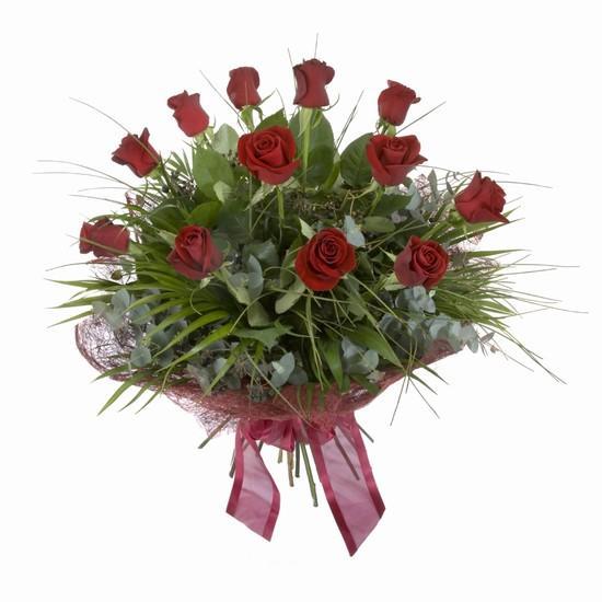 Etkileyici buket 11 adet kirmizi gül buketi  Batman internetten çiçek satışı