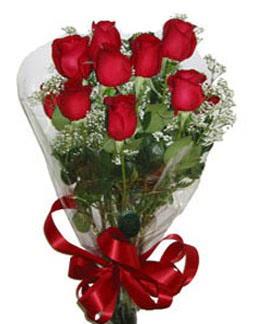 Çiçek sade gül buketi 7 güllü buket  Batman online çiçek gönderme sipariş