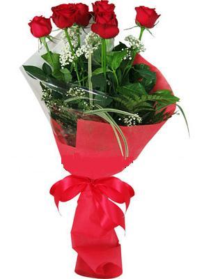 7 adet kirmizi gül buketi  Batman çiçek yolla , çiçek gönder , çiçekçi