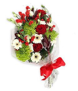 Karisik mevsim buketi çiçek tanzimi  Batman internetten çiçek siparişi