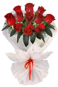 11 adet gül buketi  Batman internetten çiçek siparişi  kirmizi gül