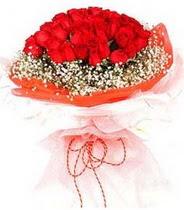 Batman hediye sevgilime hediye çiçek  21 adet askin kirmizi gül buketi