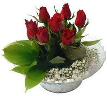 Batman internetten çiçek satışı  cam yada mika içerisinde 5 adet kirmizi gül