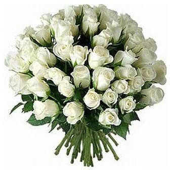 Batman çiçek servisi , çiçekçi adresleri  33 adet beyaz gül buketi