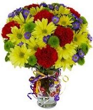 En güzel hediye karışık mevsim çiçeği  Batman hediye çiçek yolla