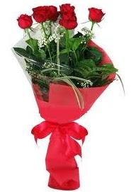 Çiçek yolla sitesinden 7 adet kırmızı gül  Batman internetten çiçek satışı