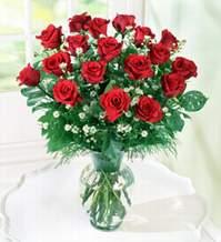 Batman internetten çiçek satışı  9 adet mika yada vazoda kirmizi güller