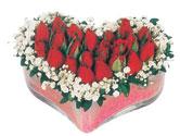 Batman çiçekçi telefonları  mika kalpte kirmizi güller 9
