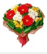 1 demet karışık buket  Batman hediye sevgilime hediye çiçek