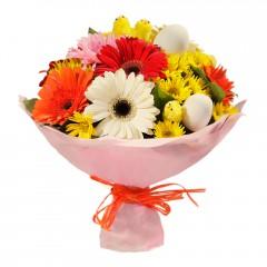 Karışık mevsim buketi Mevsimsel çiçek  Batman internetten çiçek siparişi